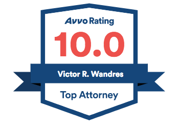 Victor Wandres AVVO Badge